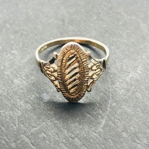 Vintage Sterling Signet Ring